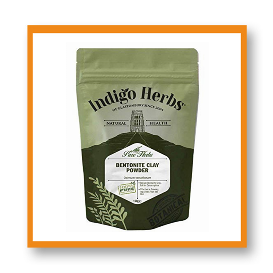 Indigo Herbs Bentonite Clay Powder
