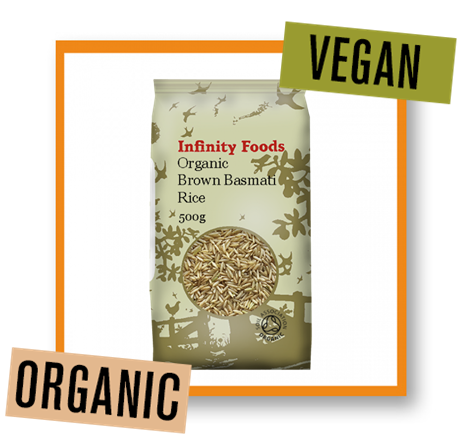 Infinity Foods Organic Brown Basmati Rice