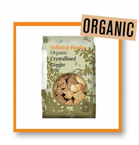 Infinity Foods Organic Crystallised Ginger