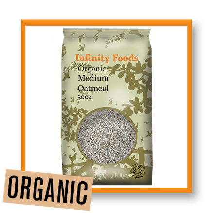 Infinity Foods Organic Medium Oatmeal
