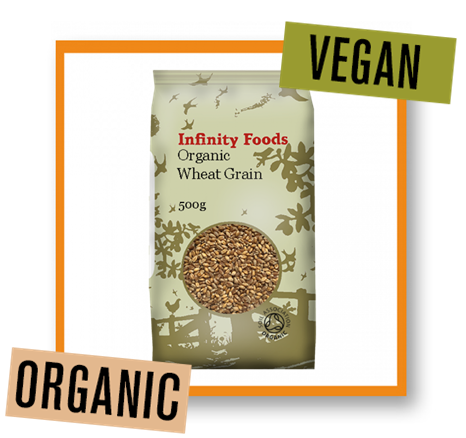 Infinity Foods Organic Wheat Grain