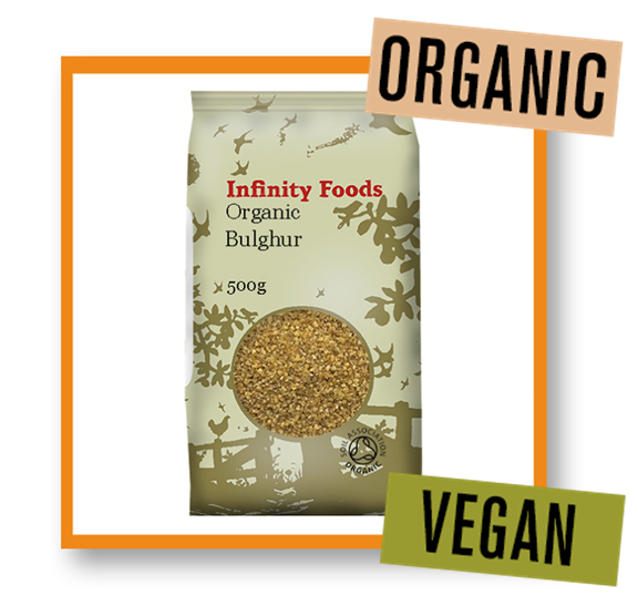 Infinity Foods Organic Bulghur Wheat