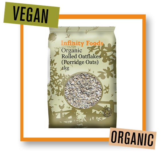 Infinity Foods Organic Rolled Porridge Oats