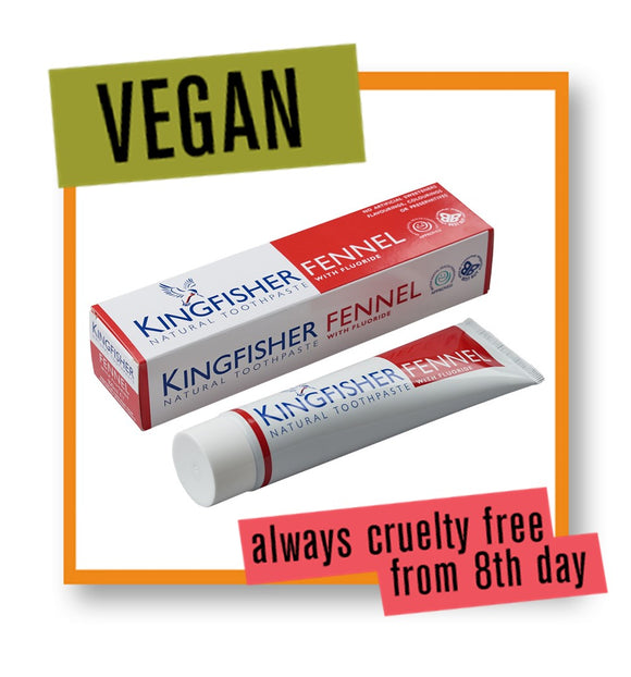 Kingfisher Fennel with Fluoride Toothpaste