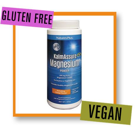 Nature's Plus Kalmassure Orange Flavour Magnesium Powder