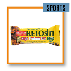 Nature's Plus Keto Bar Chocolate Almond Crunch