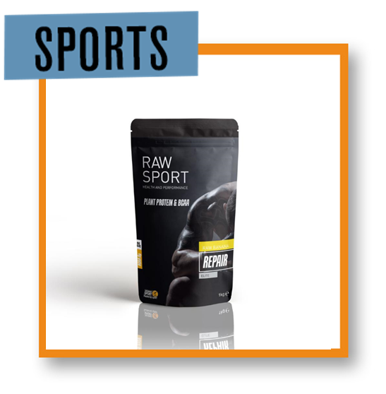 Raw Sport Elite Repair Mens Toffee Fudge Protein