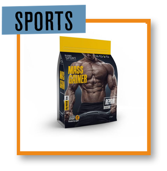 Raw Sport Mass Gainer Chocolate Fudge