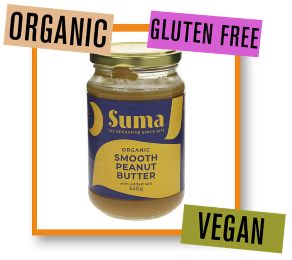 Suma Organic Salted Smooth Peanut Butter