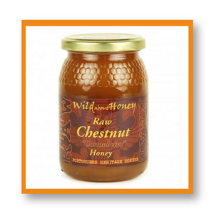 Wild About Honey Raw Chestnut Honey