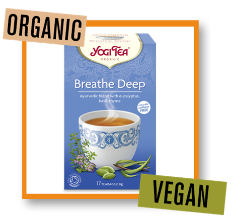 Yogi Tea Organic Breathe Deep