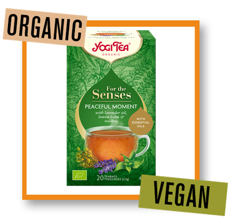 Yogi Tea Organic for the Senses Peaceful Moment