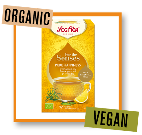 Yogi Tea Organic for the Senses Pure Happiness