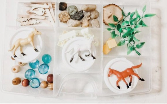 Horse Explore Dough Kit
