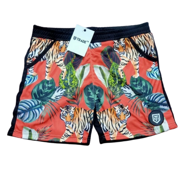 VersiShort™ [Tigers love Salmon] - Trading Looks