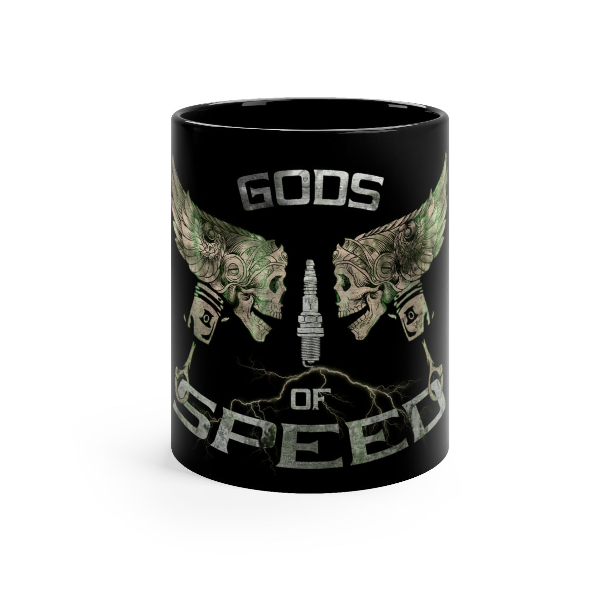 Gods of Speed - Black mug 11oz