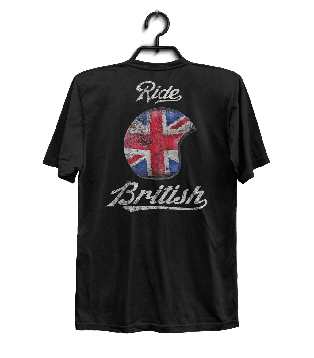 Ride British - Helmet - Back Print