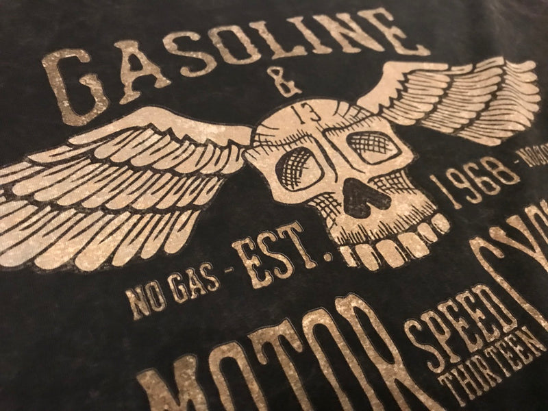 Gasoline & Motorcycles - Classic Long Sleeve Shirt