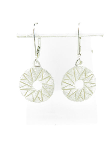 Star Millstone Earrings