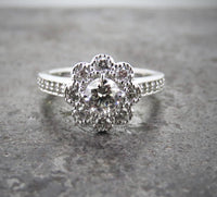 Platinum & Diamond Engagement ring