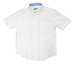 Oxford Dress Shirt Contrast Trim