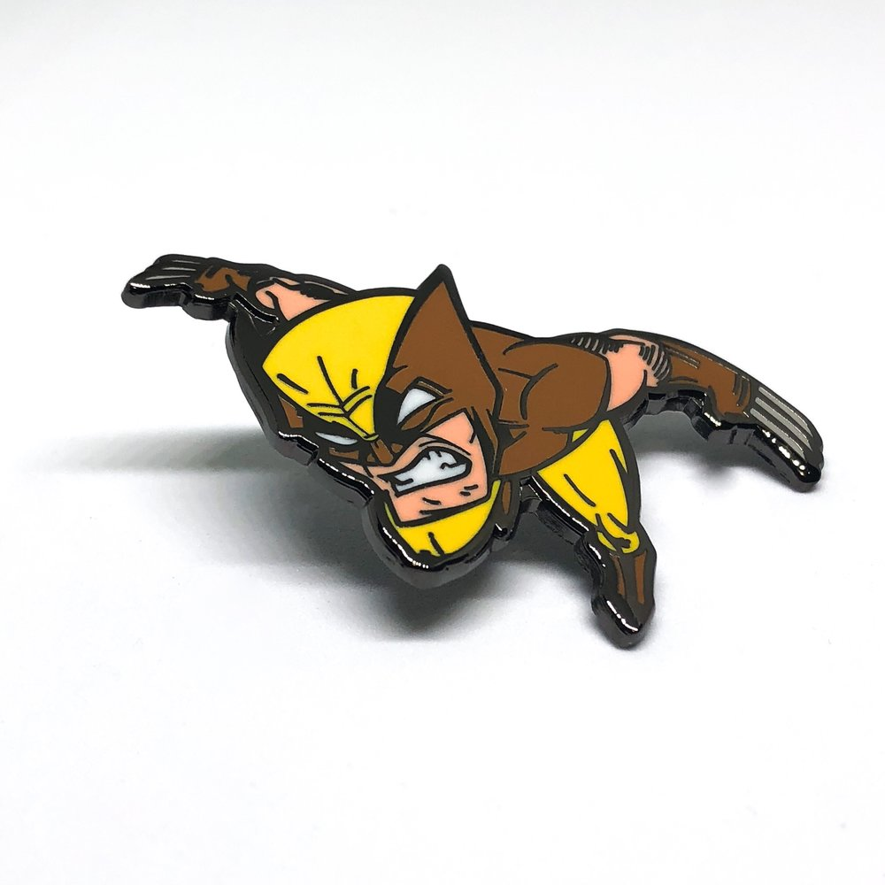 Wolverine x Nolanium x Pin Drop NYC Pin