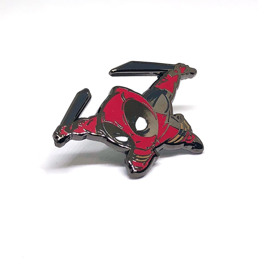 DeadPool x Nolanium x Pin Drop NYC Pin