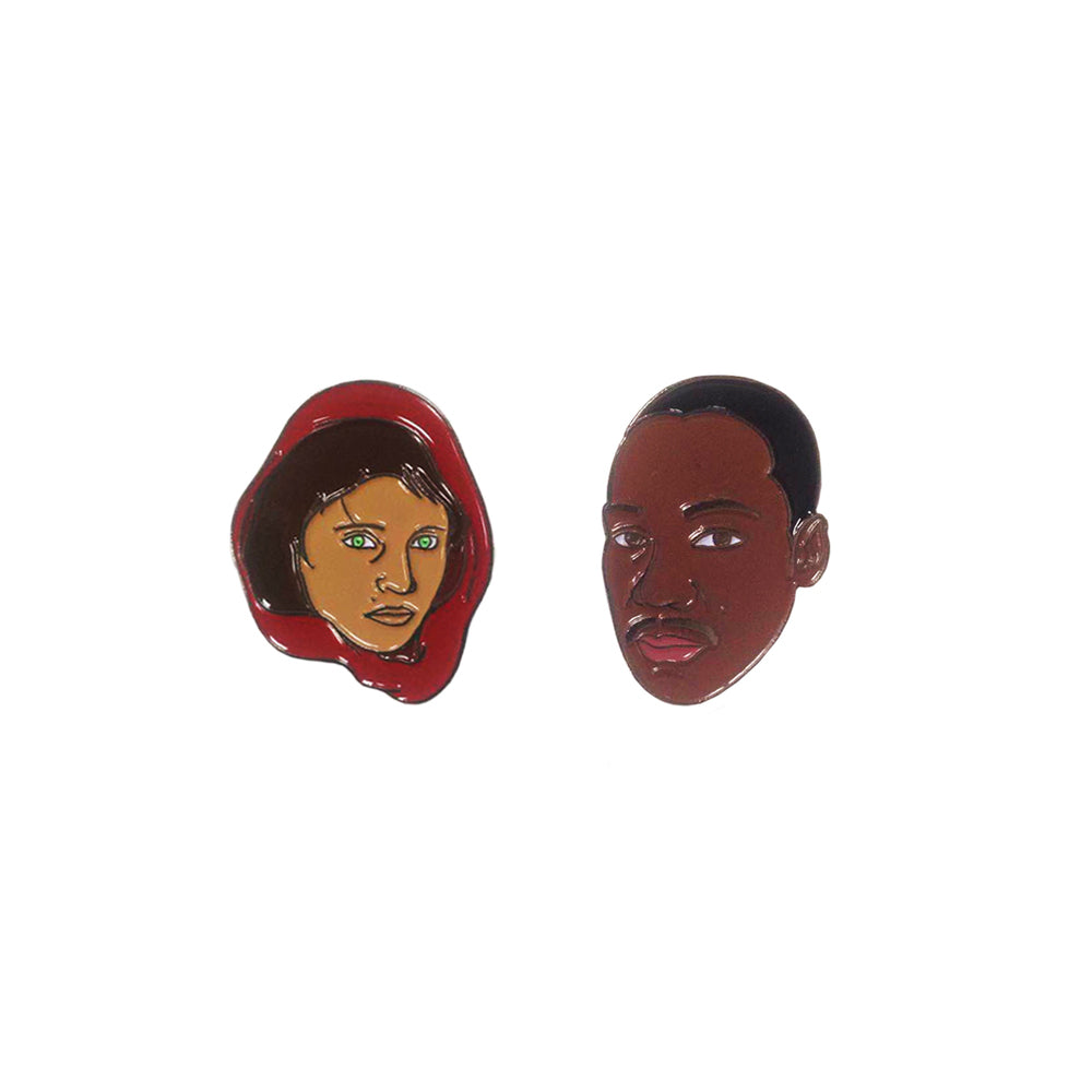 People Of Peace Pin Set