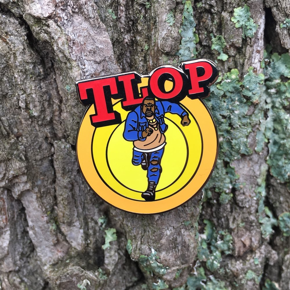 """TLOP"" by Chad Manzo pin"