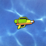 Super Soaker Pin