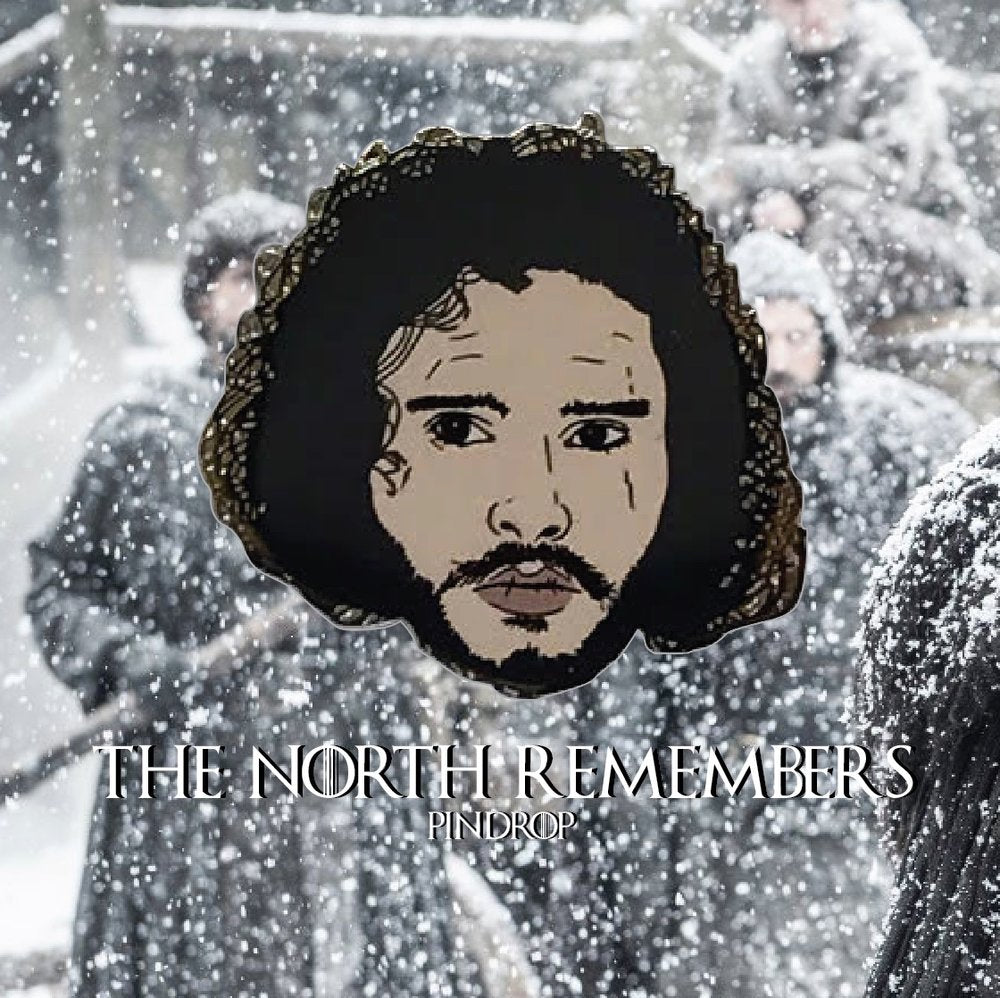 King in the North pin