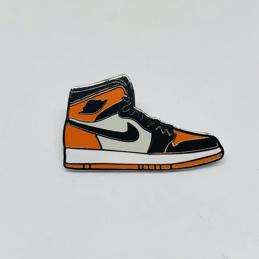 Shattered Backboard 1 Pin