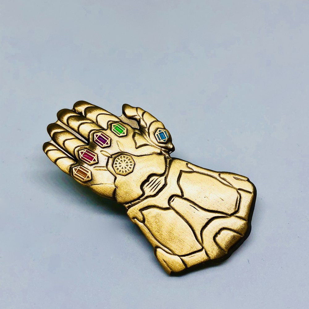 The Gauntlet Pin