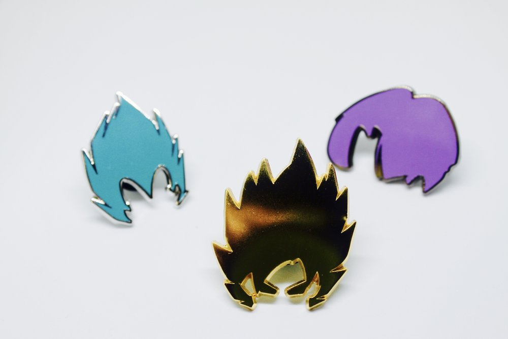DBZ Super Dragonball Pin Pack