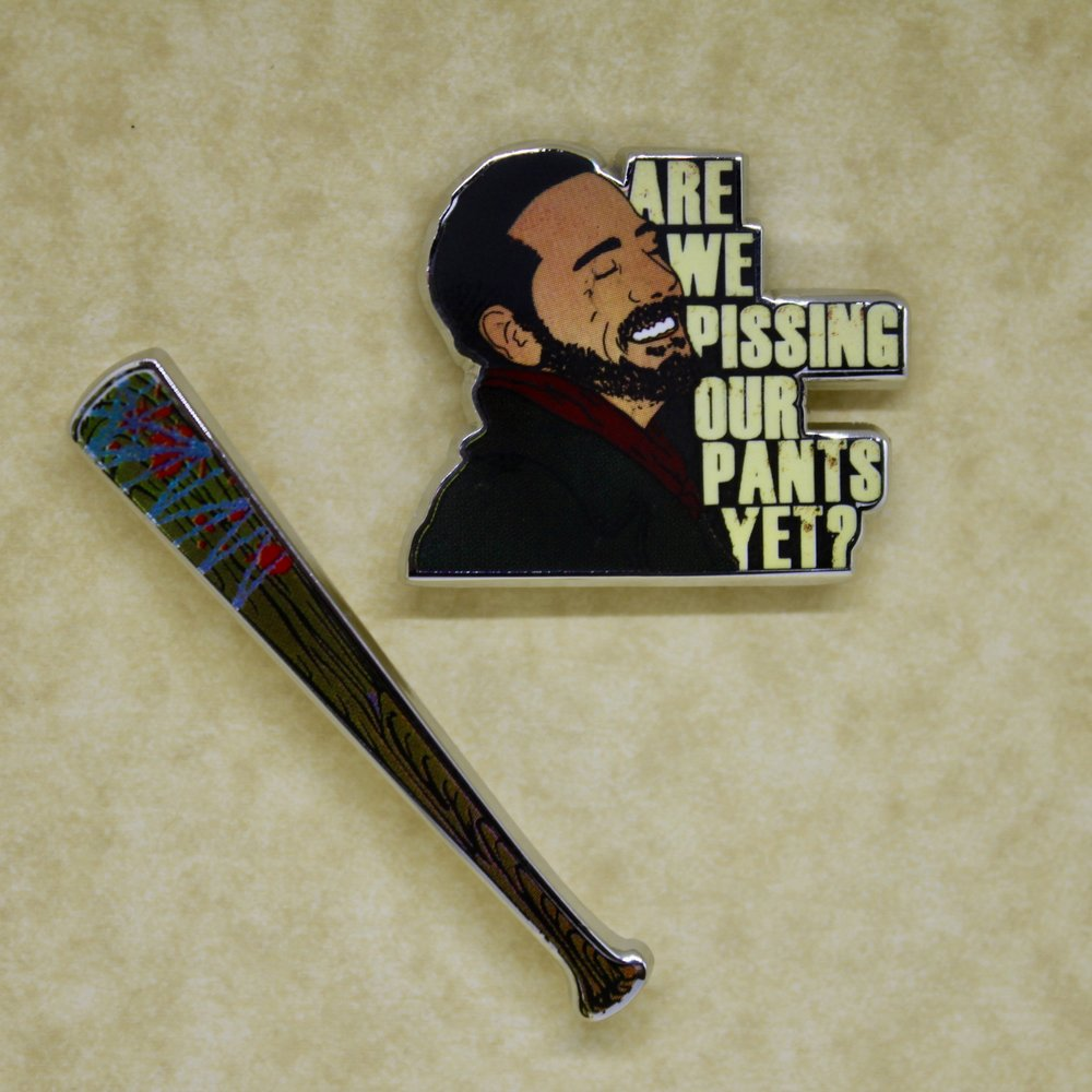 TWD Negan and Lucille Pin Pack