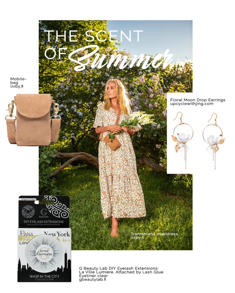 The scent of summer sustainable fashion jewelry