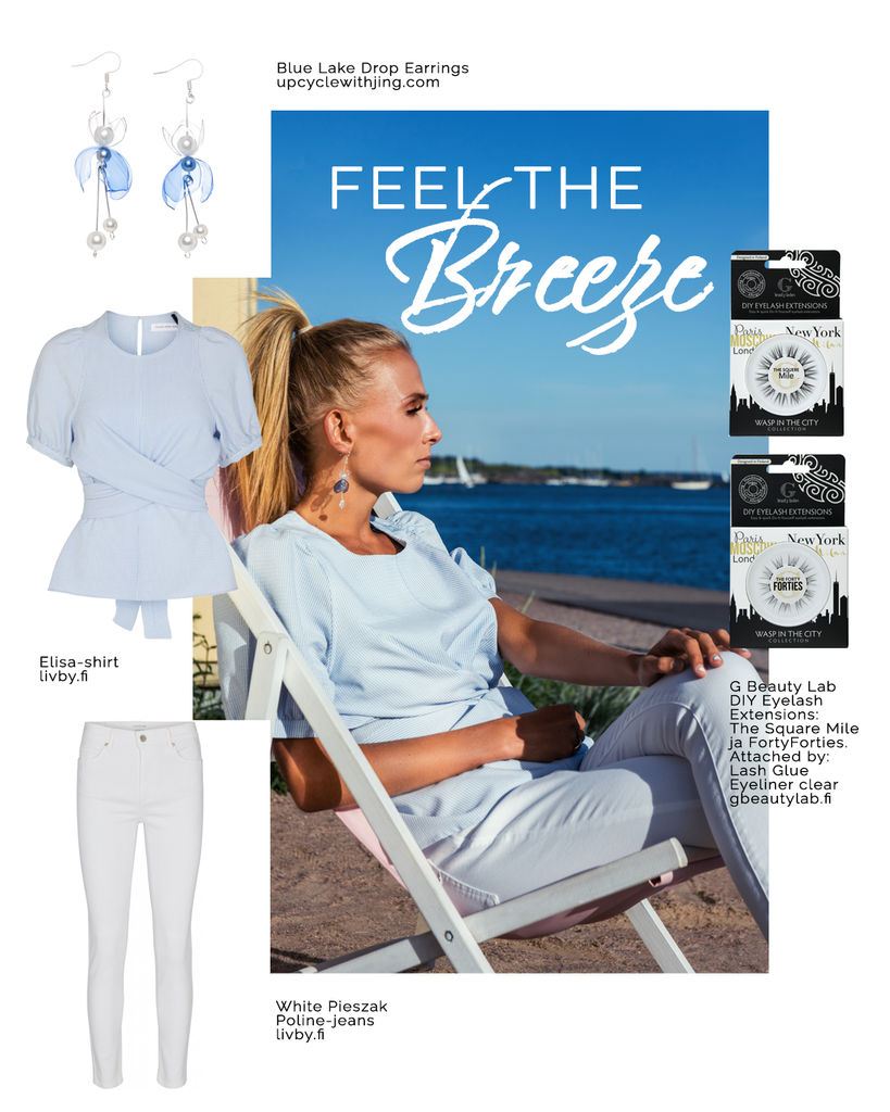 Upcycle with jing Feel the breeze