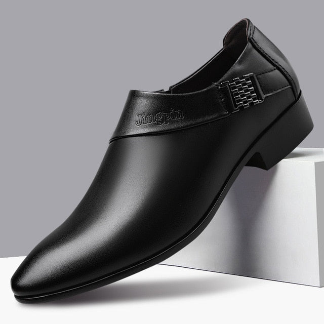 Leather Elegant Business Shoes For Men