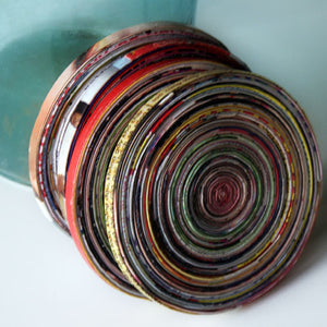 The Oracle - Upcycled Coaster Set