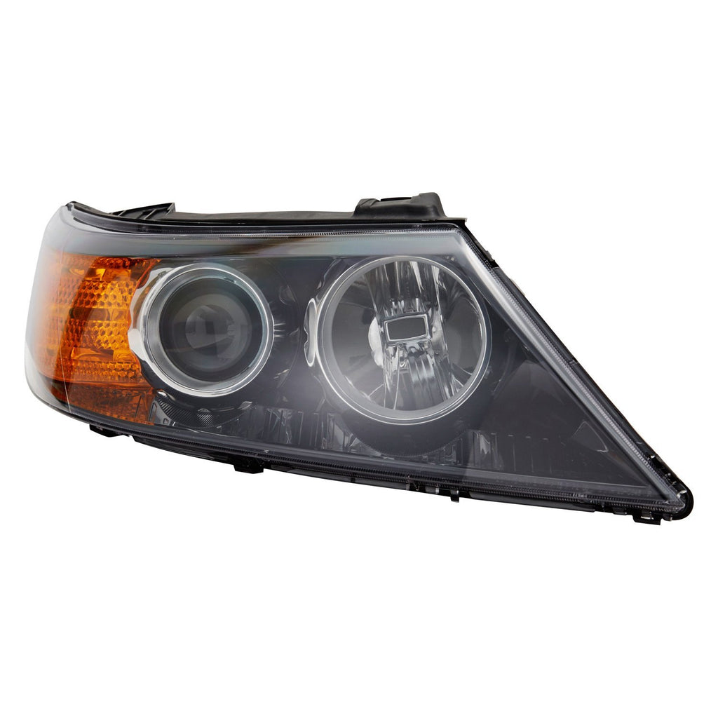 Kia Sorento 2011-2013 Headlight (TYC) Passenger Side