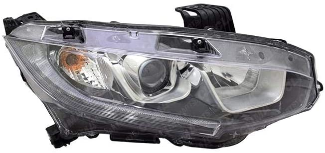 Honda Accord 2016-2017 Headlight (TYC) Passenger Side Full LED (NSF)