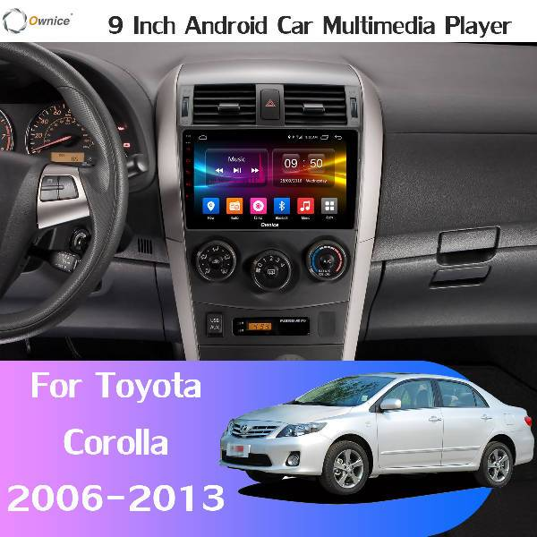 Toyota corolla android player - Mallkie AutoParts