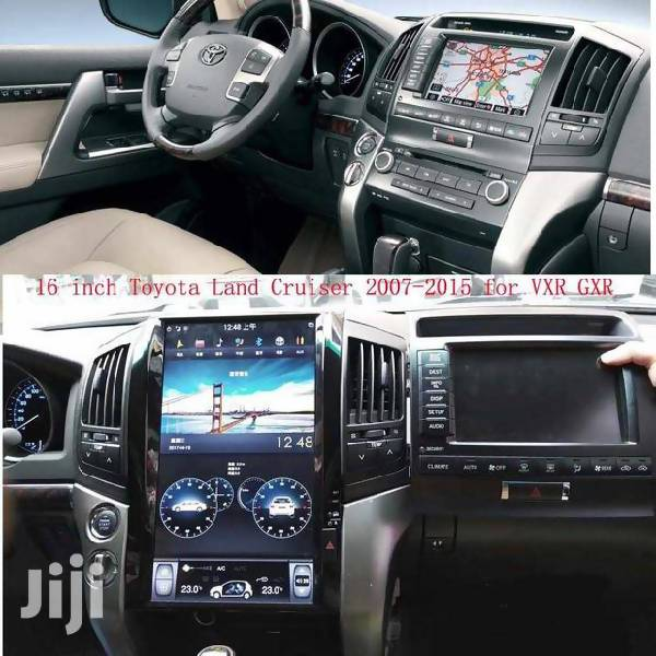 Toyota land cruiser Android player - Mallkie AutoParts