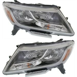 Nissan Pathfinder 2013-2016 Headlight Pair (Left&Right)