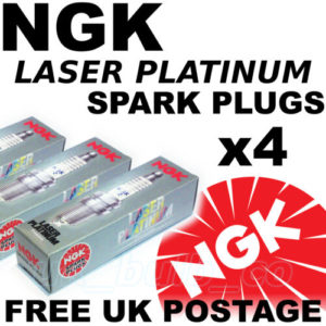 4x NEW NGK SPARK PLUGS For Hyundai GETZ 1.3 lt All Models 02 – on