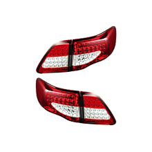 Toyota Corolla(2014-2017) Taillight Pair with boot lights
