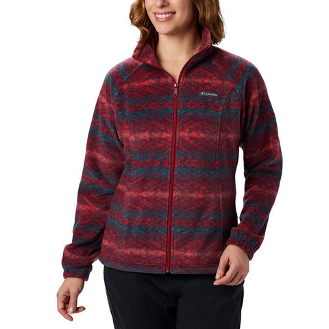 Columbia Benton Springs Print Full Zip Women's