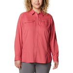 Columbia Silver Ridge Lite Long Sleeve Shirt Plus Size Women's