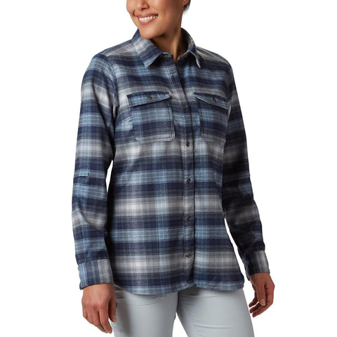 Columbia Bryce Canyon Stretch Flannel Plus Size Women's