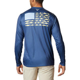 Columbia Terminal Tackle PFG Fish Flag Long Sleeve Men's